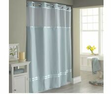 Hookless Escape Fabric Shower Curtain Bath Shower Curtain Deluxe Liner Set New