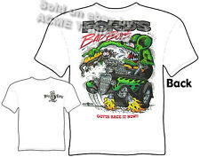 Rat Fink T Shirt 33 34 Ford's Bad Boys 1933 1934 Hot Rod Tee Sz M L XL 2XL 3XL