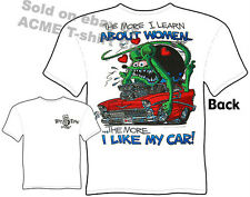 Ratfink T Shirts Chevy Shirt Hot Rod T Shirts Ed Roth Learn About Women 1956 56