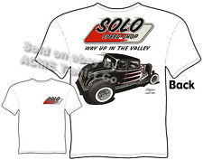 Hot Rods T Shirt 1932 Ford Shirt 32 Coupe Solo Speed Shop Tee Sz M L XL 2XL 3XL