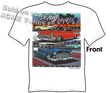 Classic Car T Shirt 1955 1956 1957 Chevy Shirt 55 56 57 BelAir Sz M L XL 2XL 3XL