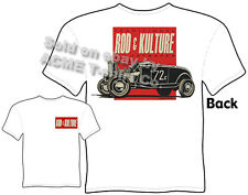 Ford T Shirts 1932 Vintage Hot Rod Clothing 32 Roadster Tee Sz M L XL 2XL 3XL