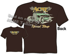 1932 Hot Rod T Shirt 32 Ford Roadster Apparel ACME Speed Shop Tee Vintage Racing