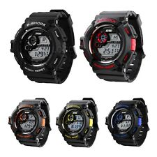 Well Men Multi-Function Outdoor Sports Waterproof LED Backlight Digital Watch