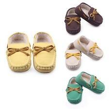 New Tooddler Baby Kids Girl Boy Soft Sole Loafers Slipper Slip-On Indoor Shoes