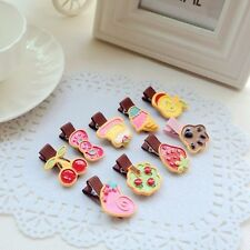 20pcs resin accessories girl hair clips hair rope tie kid baby Ponytail Holders