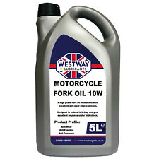 10W High Performance Fork Oil / Suspension Fluid & Fade Free Anti-wear 5L