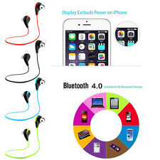 Wireless Bluetooth Headset Earpiece Earphone Headphone For iPhone Samsung LG NEW