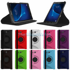 "360 Rotating Leather Case Stand Cover For Samsung Galaxy Tab A 7.0"" T280 T285"