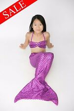 SALE! Purple Mermaid Fin Tail by Fairy Tail Mermaids ~ MONOFIN INCLUDED ~ Fun