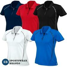 Ladies Cyber Polo Shirt Top Womens Sports Team Club Work Size 8-24 New P604LS