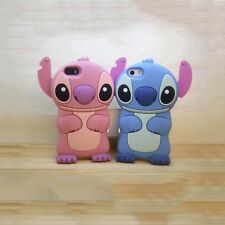 3D Stitch Soft Silicone Phone Case for iPhone 5 5S/3 4 4s Mobile Back Cover