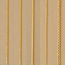 22K Pure Yellow UNISEX Multi Gold Snake Chain Necklace Yellow Gold Dubai Chains