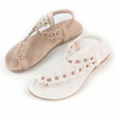 Summer Fashion Women Casual Floral Flat Shoes Beach Sandals Slippers ShoesNG