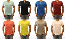 NWT HOLLISTER HCO Malibu Henley T Shirt Men Muscle Slim Fit By Abercrombie