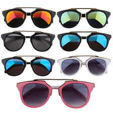 Cool Fashion Colorful Sunglasses Durable Frame Colorful Film/Gray Lenses