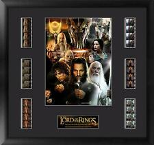 Lord of the Rings Framed Poster Mixed Film Cell Montage