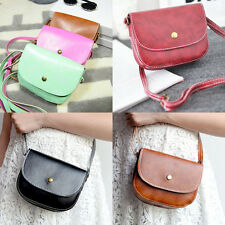 Fashion Womens PU Leather Shoulder Bag Satchel Handbag Crossbody Messenger Bags