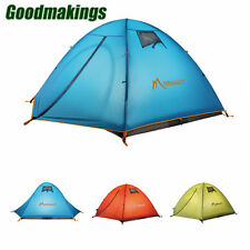 3Person Tent Double Layer Waterproof Outdoor Hiking Camping Picnic Tent Shelter