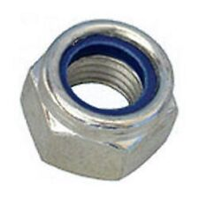 M3/M4/M5 Nyloc Nut - 50 Pack - Steel Zinc Plated