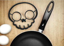 Kitchen Cooking Skull Egg Shaper Silicone Fried Fry Pan Art Mold Novelty Fun