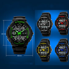 SKMEI Multi Function Waterproof Sport LED Analog Digital Mens Quartz Wrist Watch