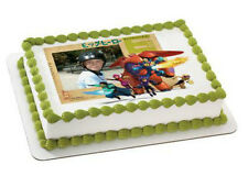 Big Hero 6 edible image your photo custom frosting cake topper icing #4974