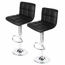 Homall Modern Home Office Study PU Leather Counter Height Barstools(Set of 2)