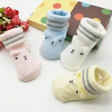 Toddler Infant Baby Kids Soft Anti-slip Sole Socks Newborn Cartoon Socks 0-6M