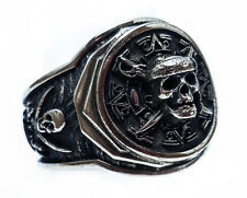 Pirate of the Caribbean Skull Ring, Pirate Ring, Jack Sparrow Ring, Pirate Skull