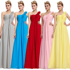 PLUS SIZE 20-24W Long Chiffon Prom Formal Gown Evening Party Bridesmaid Dress