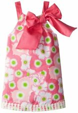 Mud Pie Girls Lily Pad Dress - Size 24M/2T