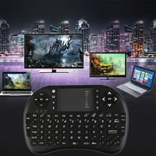 Multi-media 2.4GHz Mini Wireless Keyboard Mouse Touch Pad Presenter Combo BN