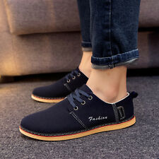 New Men's Suede Oxfords Leather Shoes Casual Comfort Stylish European Style