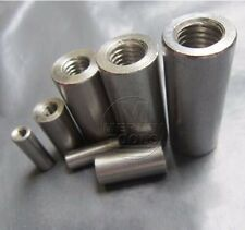 Select Size M4 - M16 Round Threaded Rod Coupling Nuts 304 Stainless Steel
