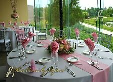 "37 + Colors 10/20  12 ""X 108"" Satin Table Runner  Wedding Party Decor Decoration"