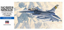 Hasegawa 1/72 F-16CJ Block 50 Fighting Falcon Airplane Model Kit - 00448 bs