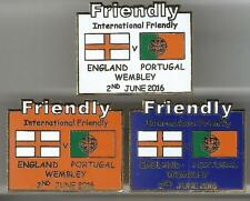 2016 Friendly - England v Portugal ~ Match Day Badge