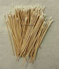500 Pc Cotton Swab Applicator Q-tip Swabs 6in Extra Long Wood Handle Sturdy New