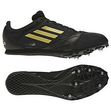 Mens ADIDAS ARRIBA 3 III Track & Field Spikes Cleats Shoes Black Gold SIZE 13