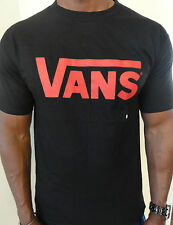 100% AUTHENTIC MENS VANS OFF THE WALL TEE  SIZE S BLACK  *BRAND NEW*