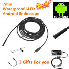1M/2M/5M 6LED Android Endoscope Waterproof Inspection Micro USB Video Camera BB