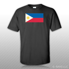 Filipino Flag T-Shirt Tee Shirt Free Sticker philippines pinoy star sun