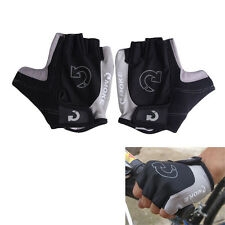 Cycling Gloves Bicycle Motorcycle Sport Gel Half Finger Gloves SXL Size Location