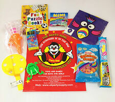 Pre Filled Girls Boys Kids Party Loot Bags Fun Surprise Favours 3 Sizes Avail