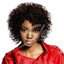 Sleek 100% Human Hair Wig Mia Soft Spiral Curls Wig With Free Wig Cap* UK Seller