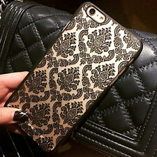 Damask Vintage Skin Pattern Hard Case Cover For Apple iPhone Samsung Galaxy 12a