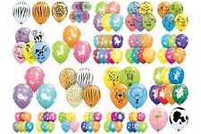 """Qualatex  25 x 11"""" Animal Print Latex Balloons Suitable for air or helium"""