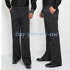 Mens Ballroom Latin Tango Rhythm Salsa Dance Pants Competition Practise Trousers