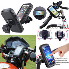 360° Waterproof Bike Bicycle Mount Holder Phone Case Cover for Apple iPhone iPod